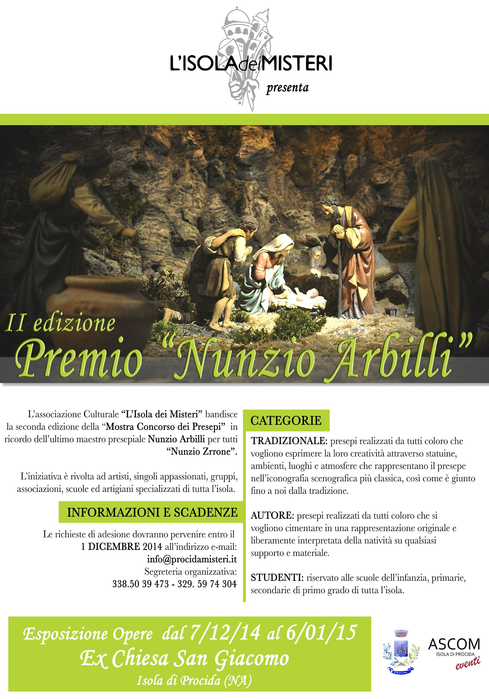 """Mostra Concorso dei Presepi """"Premio Nunzio Arbilli"""" – Ed. 2014"""