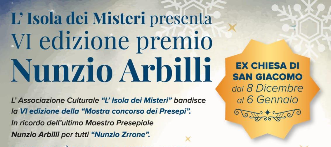 VI edizione premio Nunzio Arbilli